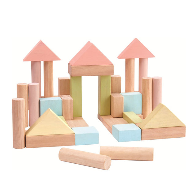 PLAN TOYS - Blocs de construction en bois