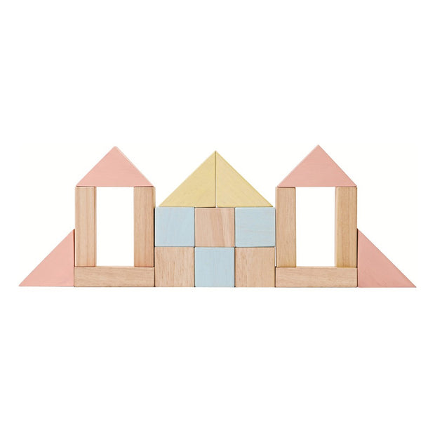 PLAN TOYS - Blocs de construction en bois eco-responsables