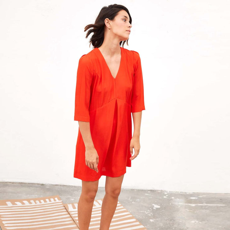 tinsels robe rouge odilia irvine