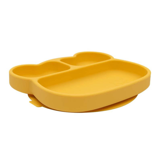WE MIGHT BE TINY - Assiette en silicone ours jaune
