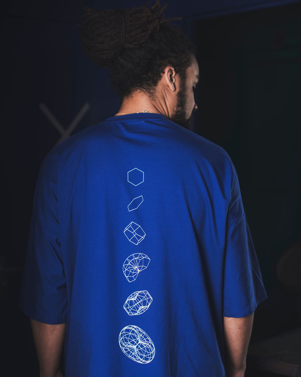 UNMUTE x liël Oversized Shirt - Royal Blue