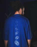 Load image into Gallery viewer, UNMUTE x liël Oversized Shirt - Royal Blue