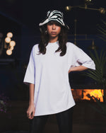 Load image into Gallery viewer, UNMUTE x liël Oversized Shirt - White