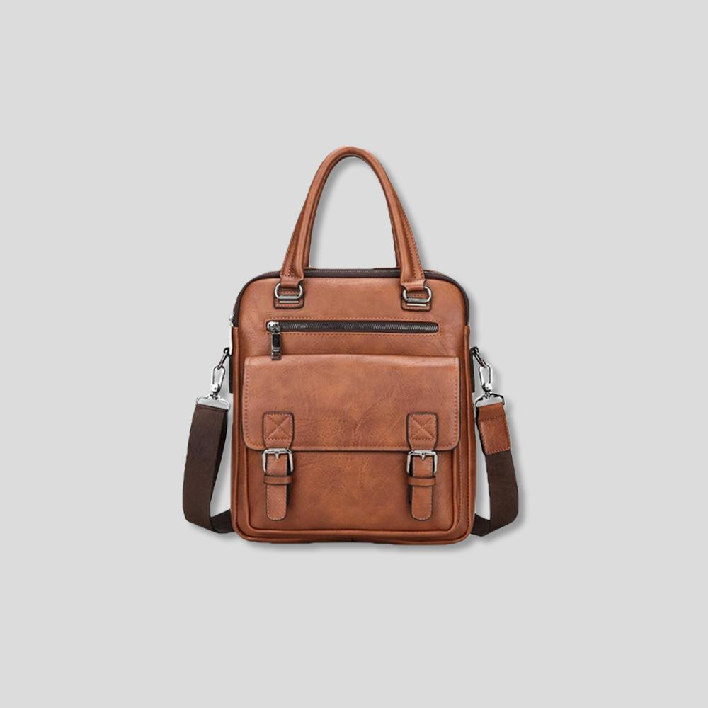 RAMONE DURABLE LEATHER CROSSBODY BAG
