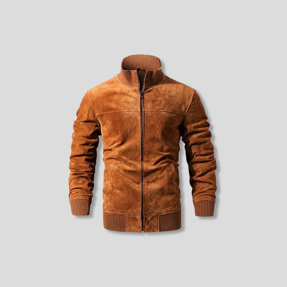 ALEXANDER SUEDE LEATHER JACKET