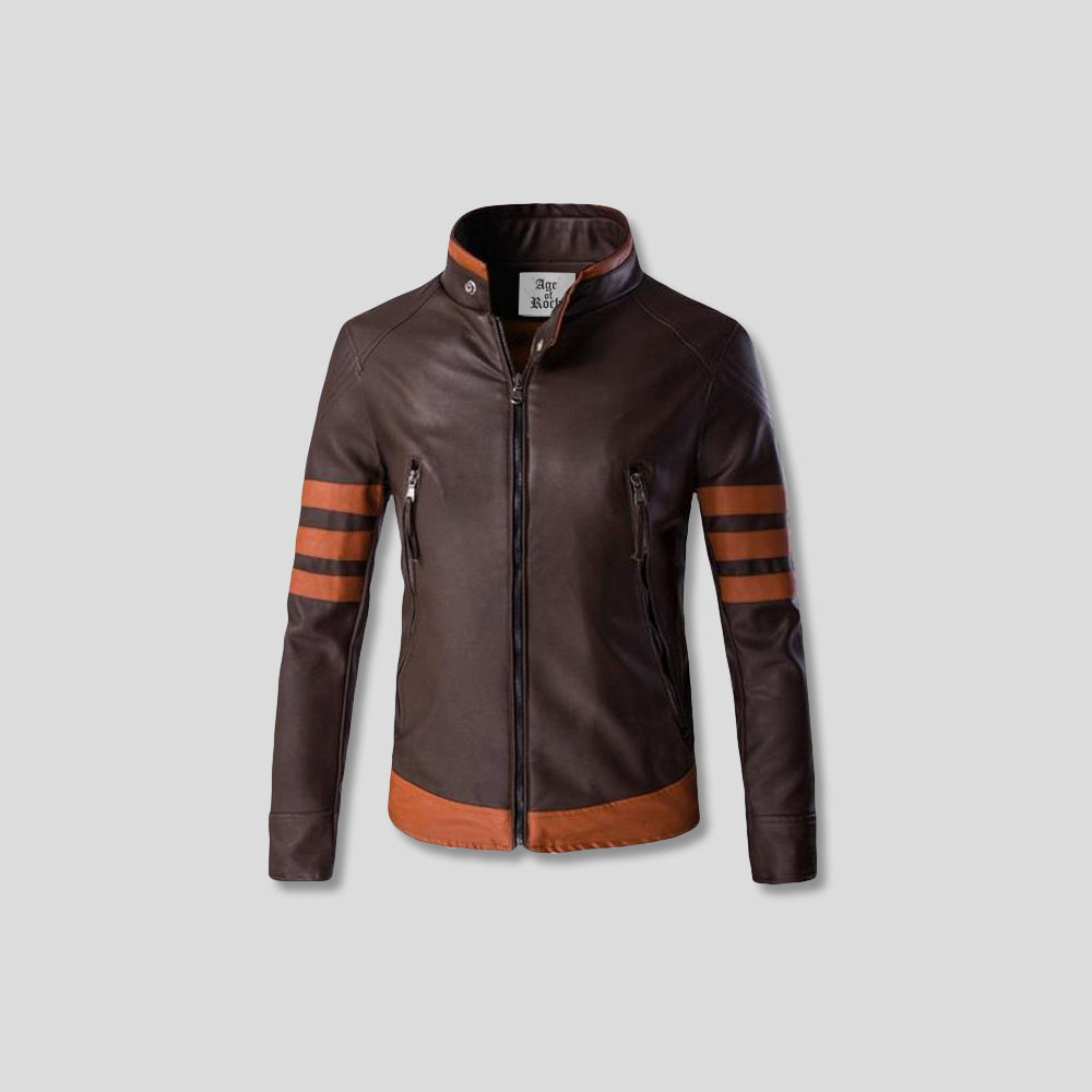 VAUGHAN RIDER LEATHER JACKET