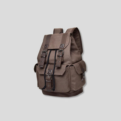 HALEN VINTAGE CANVAS BACKPACK