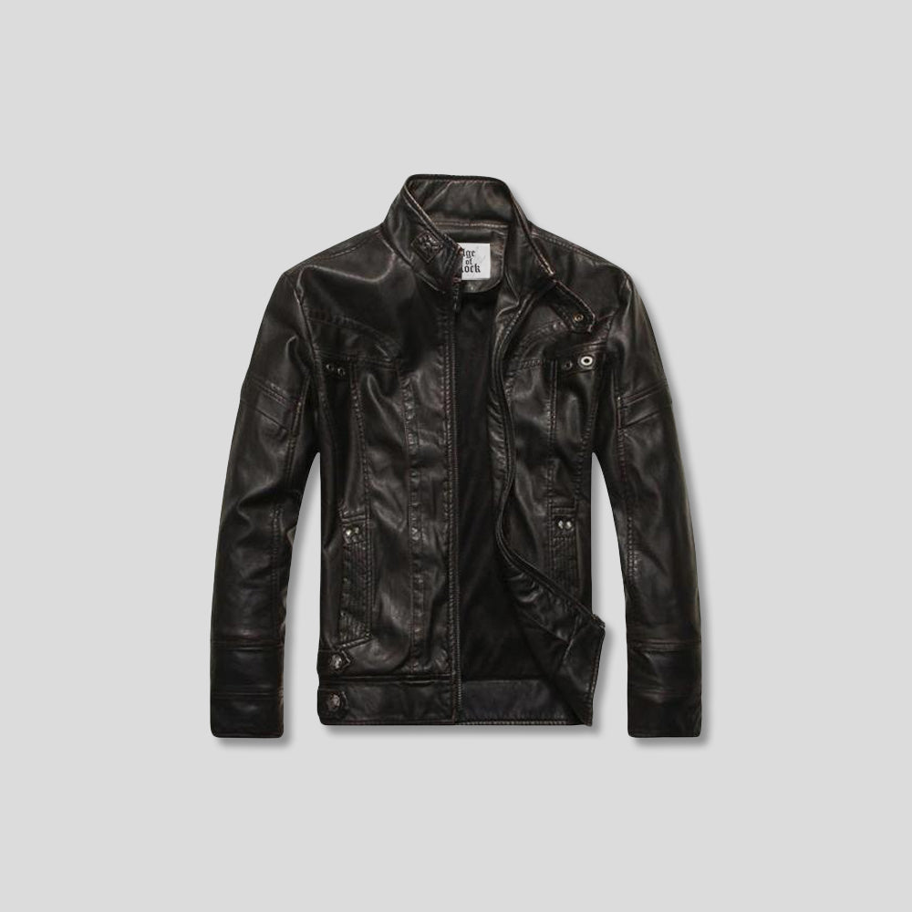 ZIMMERMAN LEATHER JACKET