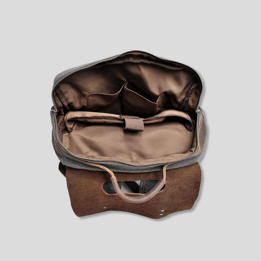 Page Vintage Leather Backpack