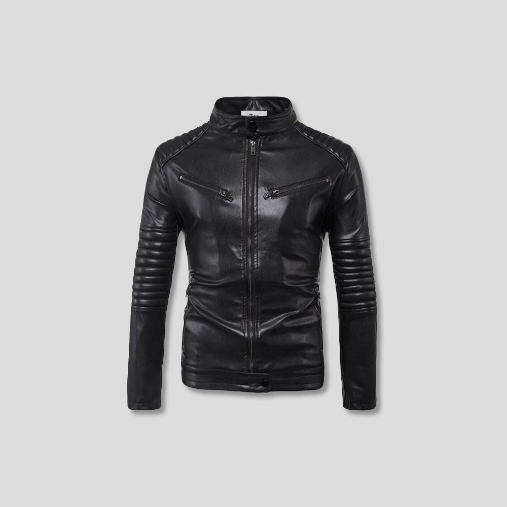 LLOYD LEATHER JACKET