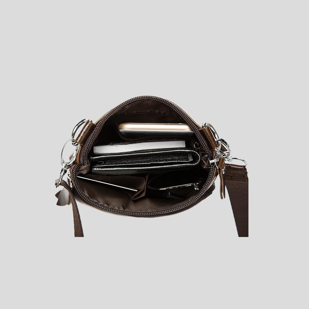 PATON LEATHER CROSSBODY BAG