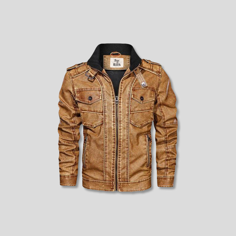 STARR RIDER LEATHER JACKET
