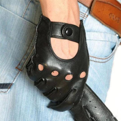 EDGE LEATHER GLOVES