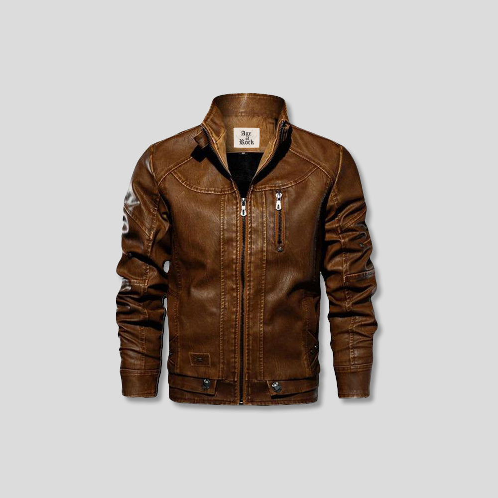 O'ROURKE LEATHER JACKET