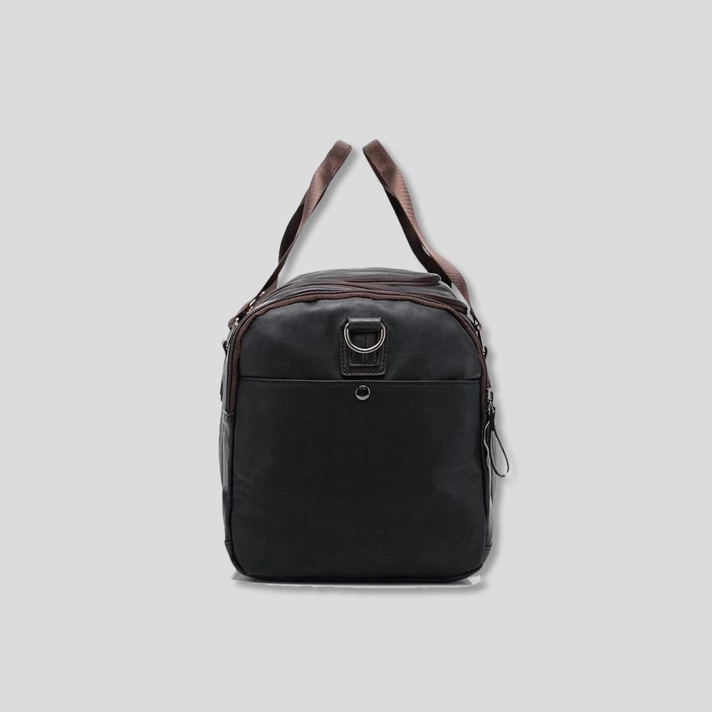PERRY LEATHER WEEKEND BAG