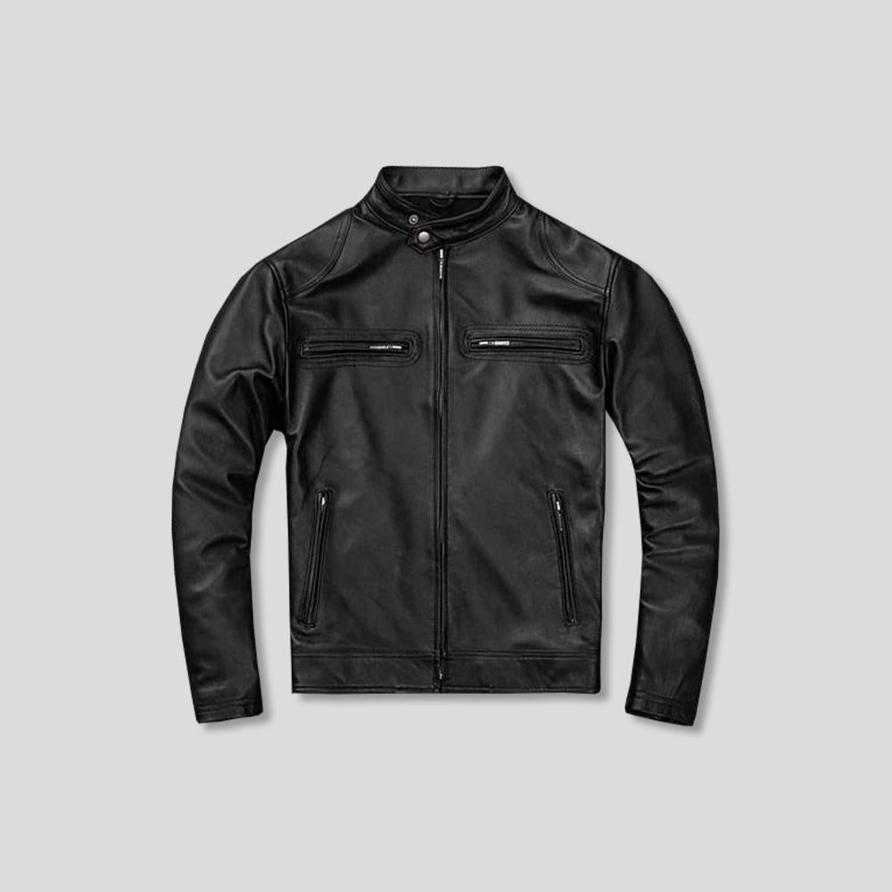 DAVIS SHEEPSKIN LEATHER JACKET