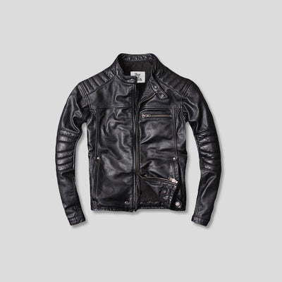 DUFFY LEATHER JACKET