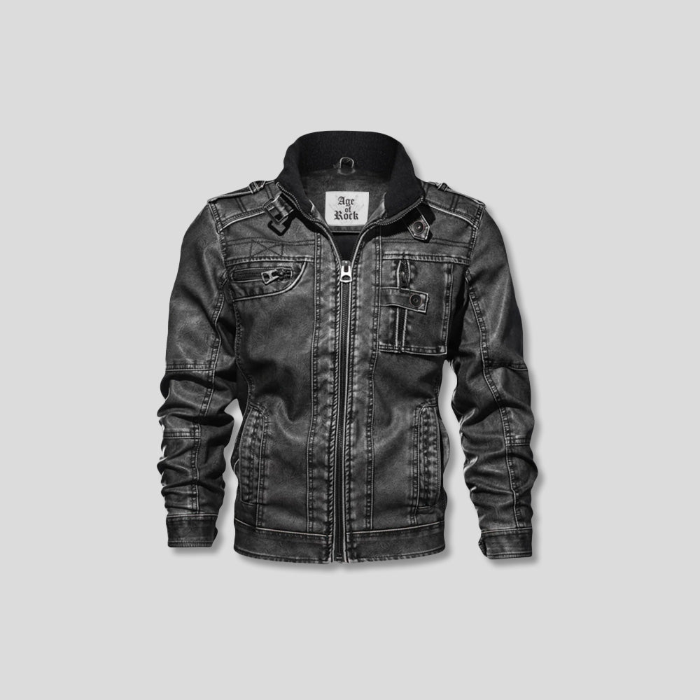 RIDGELINE LEATHER JACKET