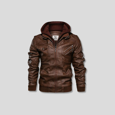 NESS LEATHER JACKET