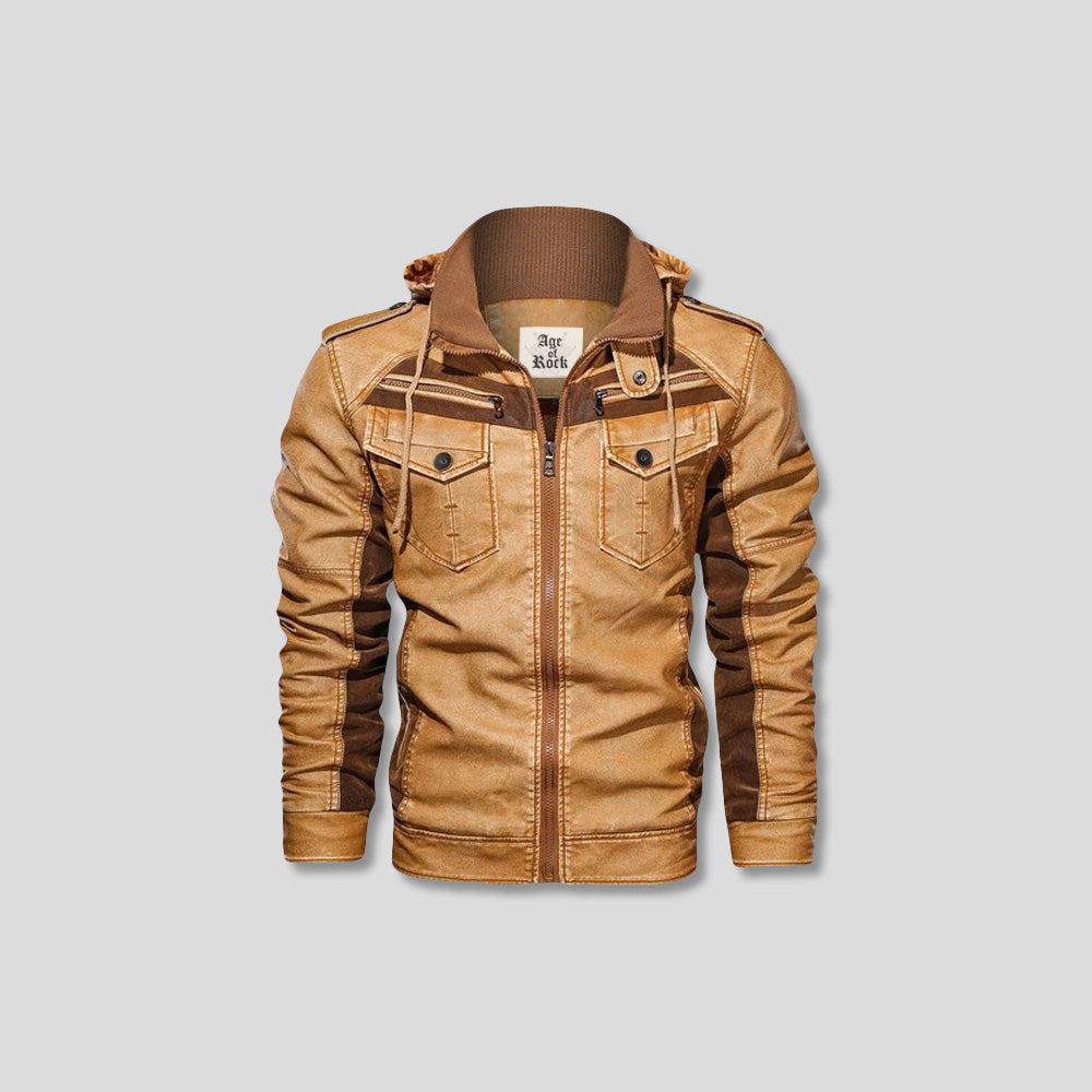CLEMENT LEATHER JACKET