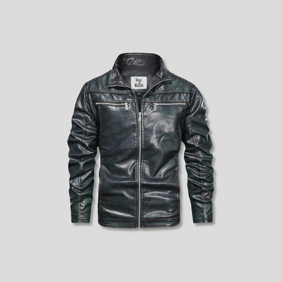 FILKINS LEATHER JACKET