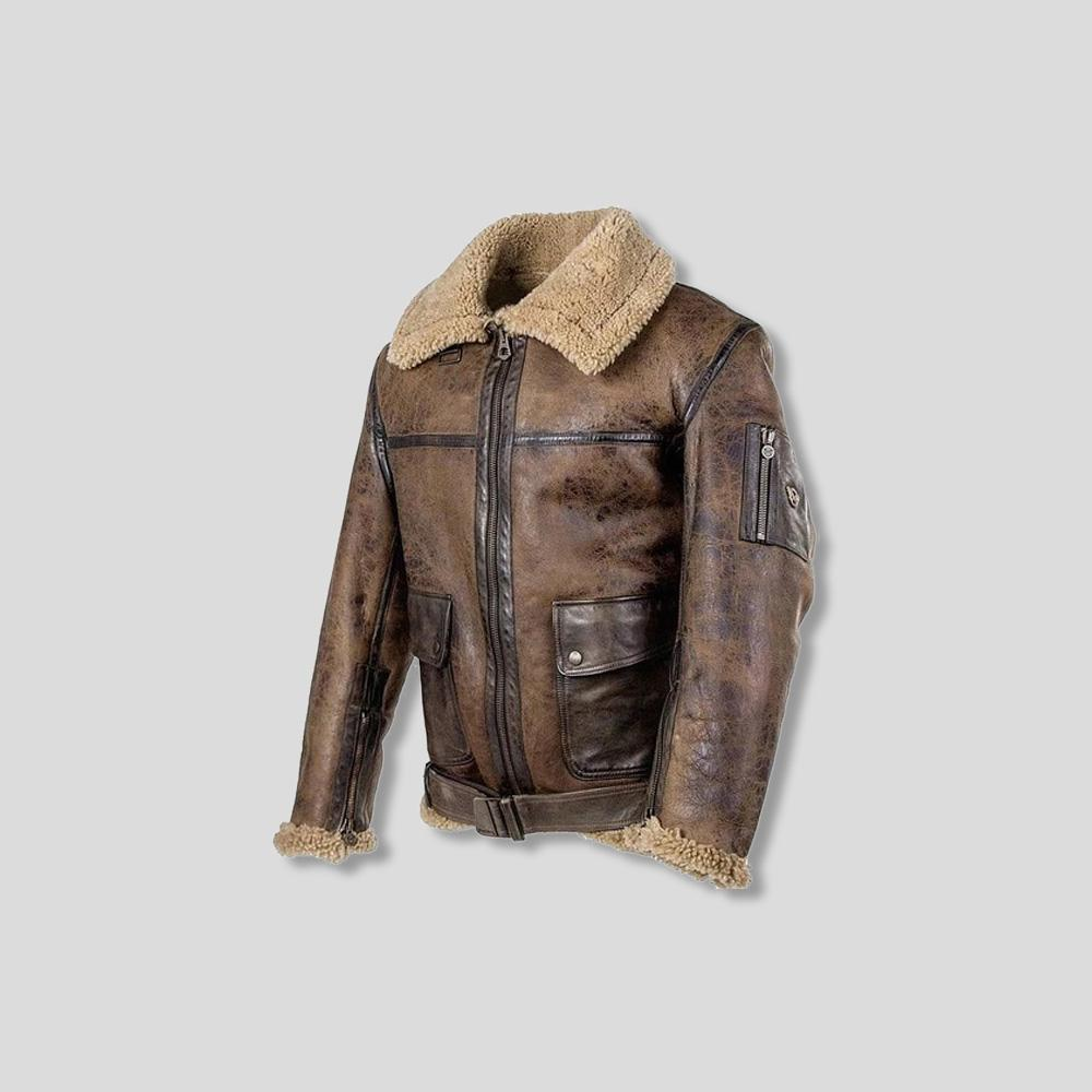 KURT LEATHER JACKET
