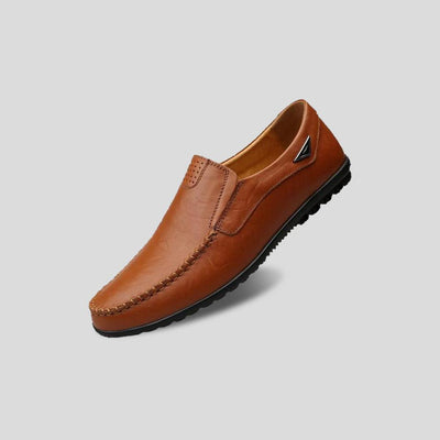 WYMAN LEATHER MOCCASINS