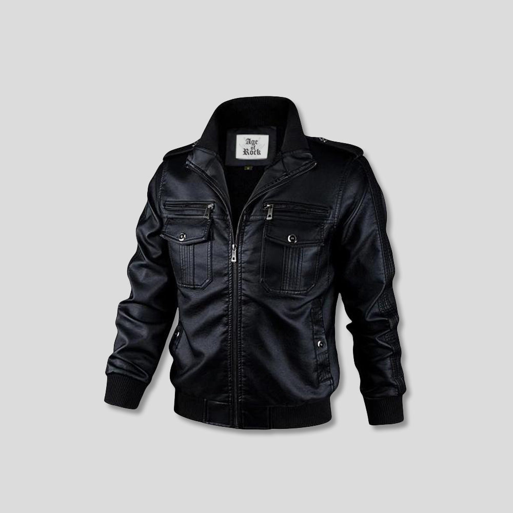 STEVIE LEATHER JACKET