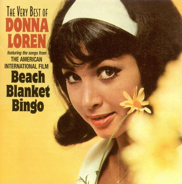 """The Very Best of Donna Loren/Beach Blanket Bingo"" CD"