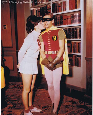 """Robin's First Kiss"" from Batman (1966)"