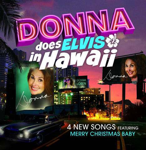 """Donna Does Elvis in Hawaii"" Autographed EP"