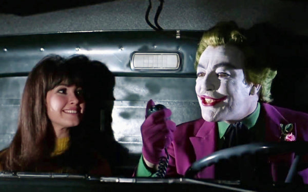 """Susie"" and ""The Joker"" in the Truck on Batman (1966)"
