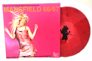Mansfield 66/67 Movie Soundtrack on Pink Molten Lava Vinyl *Limited Edition*