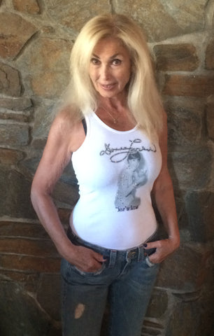 "Ladies ""Susie"" Tank Top by Bejewelled"