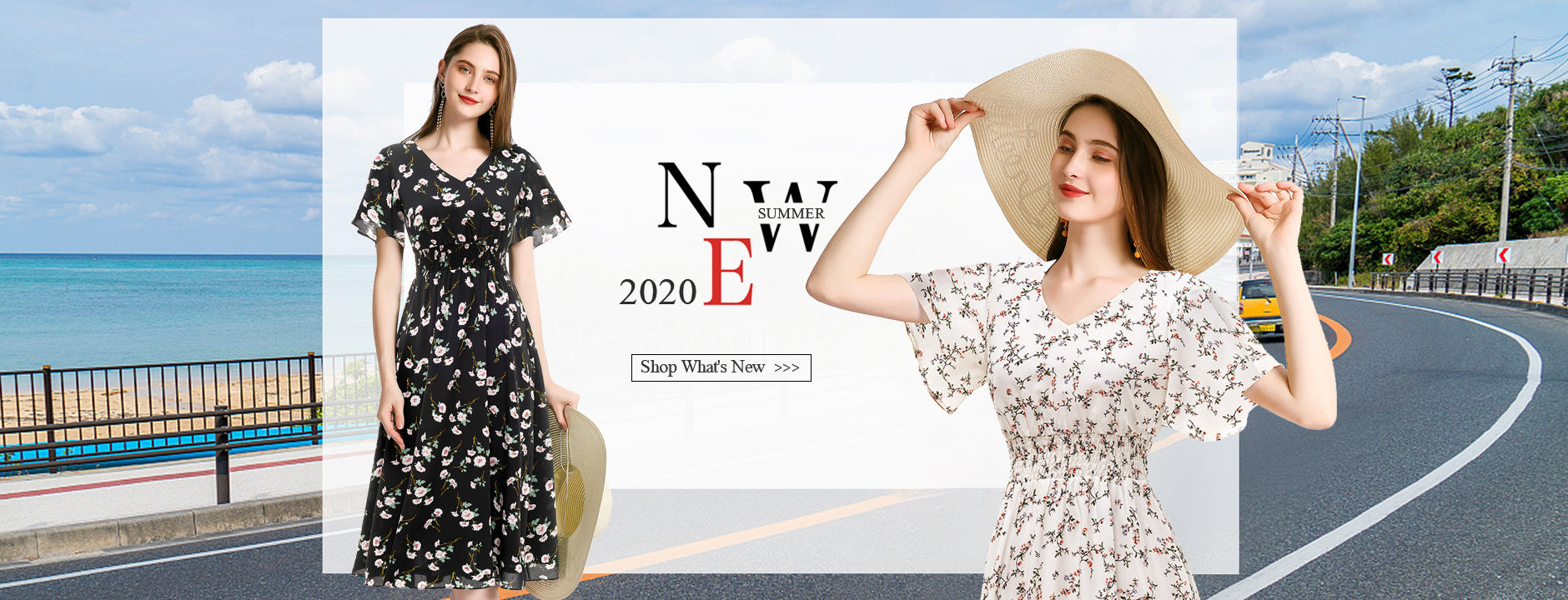 Floral Summer Dresses 2020 Casual Dresses Women's Fashion Boho Style | Gardenwed