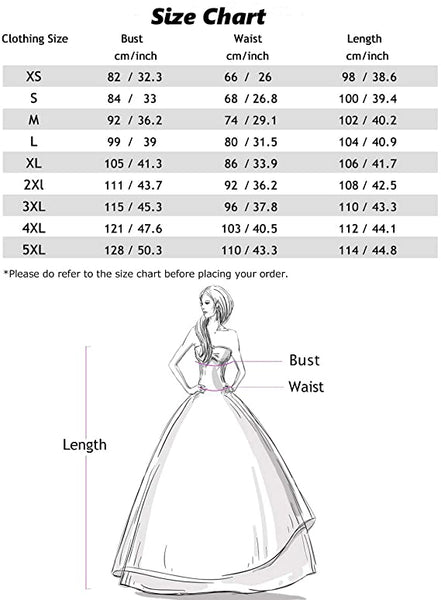Size Chart DT10031 Halter Vintage Dress Audrey Hepburn Dress Rockabilly Dress | Gardenwed