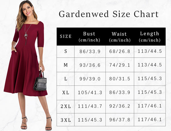 Size Chart Cocktail Dresses Short Prom Dresses Party Dress Homecoming Dress | Gardenwed