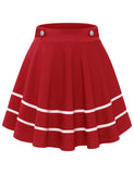 Women's Basic Casual Versatile Flared Mini Skater Skirts