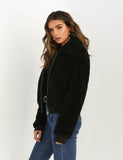Women's Faux Loose Warm Winter Pockets Coat Jacket Outwear GDCG1040 | Gardenwed