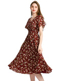 Hot Summer Dresses Vneck Bohemian Style Beach Dress For Woman Causal Dresses GDQC027 | Gardenwed
