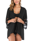 Women's Kimono Cardigan Loose Open Front Cover Up Tops | Gardenwed