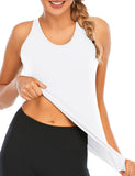 Workout Tank Tops for Women with Built in Bra Yoga Activewear | Gardenwed