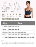 Strappy Sports Bra for Women Sexy Crisscross for Yoga Running | Gardenwed