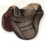 "Torsion Deluxe Treeless Saddle 16"" Brown"