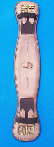 Torsion Nubuck Leather Straight Girth