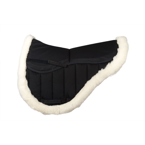 Griffin NuuMed High Wither Endurance Wool Pad Black - Dream Team Equine