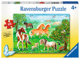 60pc Jigsaw Puzzle Ravensburger Horses in a Meadow