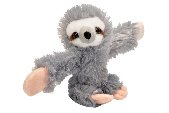 Slap Snap Band Plush Hugger Sloth
