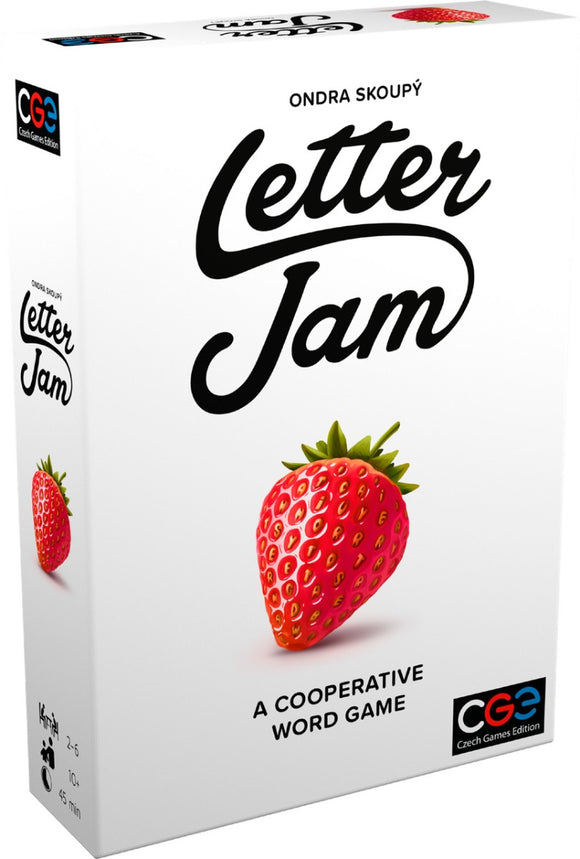Letter Jam Co-Operative Word Board Game
