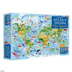 300pc Jigsaw Puzzle World Map Puzzle